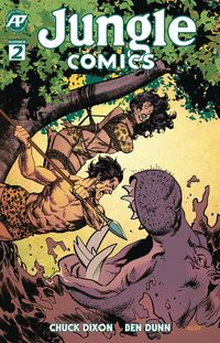 [The cover for Jungle Comics #2 (Cover A Shannon)]