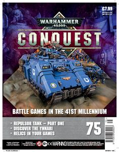 [Warhammer 40K: Conquest: Figurine Collection #75 (Product Image)]