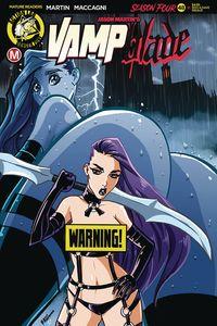 [Vampblade: Season 4 #11 (Cover D Rudetoons Reynolds Risque) (Product Image)]