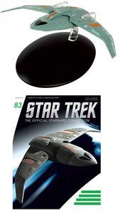 [Star Trek Starships #83 Bajoran Troop Transport (Product Image)]