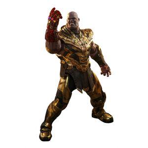 [Avengers: Endgame: Hot Toys Action Figure: Thanos Battle Damaged Version (Product Image)]