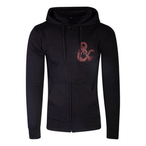 [Dungeons & Dragons: Zipper Hoodie: Iconic Logo (Skinny Fit) (Product Image)]