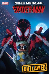 [Miles Morales: Spider-Man #18 (Rahzzah Baby Morales Variant Out) (Product Image)]