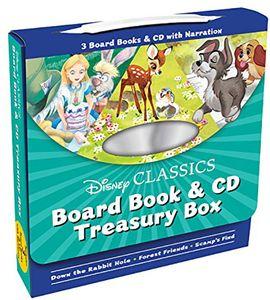 [Disney Classics: Board Book & CD Treasury Box (Product Image)]