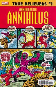 [True Believers: Annihilation: Annihilus #1 (Product Image)]