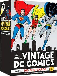[The Art Of Vintage DC Comics: 100 Postcards (Product Image)]