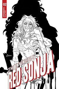 [Invincible Red Sonja #2 (Conner Line Art Variant) (Product Image)]