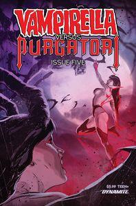 [Vampirella Vs Purgatori #5 (Cover C Kudranski) (Product Image)]
