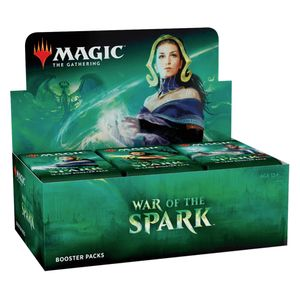 [Magic The Gathering: War Of The Spark: Booster Box (36 Packs) (Product Image)]
