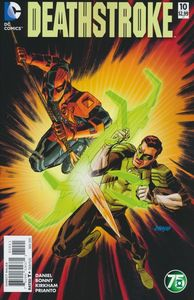 [Deathstroke #10 (Green Lantern 75 Variant Edition) (Product Image)]