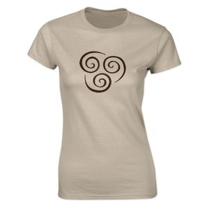 [Avatar The Last Airbender: Women's Fit T-Shirt: Air Element (Product Image)]