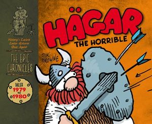 [Hagar The Horrible: Dailies: 1979-80 (Hardcover - Titan Edition) (Product Image)]