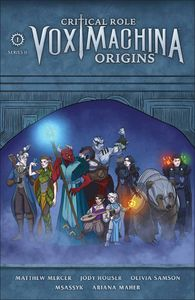 [Critical Role: Vox Machina Origins: Series II #1 (Forbidden Planet Exclusive Kit Buss Variant Signed Edition) (Product Image)]