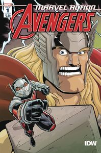 [Marvel Action: Avengers (2020) #1 (Cover A Mapa) (Product Image)]