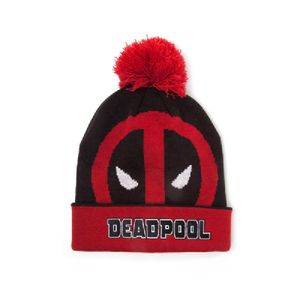 [Deadpool: Roll Up Beanie With Pompom (Product Image)]