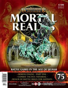 [Warhammer: Age Of Sigmar: Mortal Realms #75 (Product Image)]