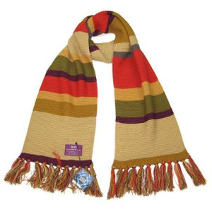 [Doctor Who: Fourth Doctor Short Scarf (Product Image)]