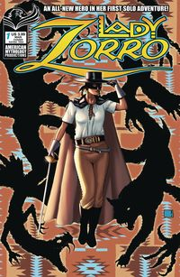 [The cover for Lady Zorro #1 (Cover A Wolfer)]