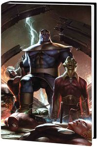 [The Thanos Wars: Infinity Origin: Omnibus (Lee Variant - Hardcover) (Product Image)]