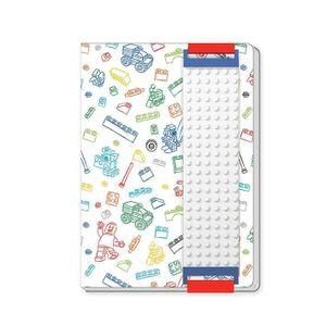 [LEGO: Notebook: White Building Band (Product Image)]