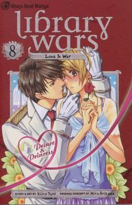 [Library Wars: Love & War: Volume 8 (Product Image)]