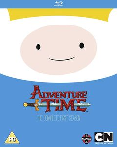 [Adventure Time: The Complete 1st Season Blu Ray (Product Image)]