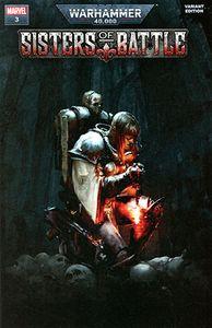 [Warhammer 40k: Sisters Of Battle #3 (Games Workshop Variant) (Product Image)]