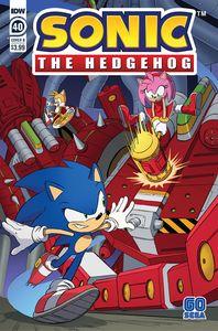 [Sonic The Hedgehog #40 (Cover B Dan Schoening) (Product Image)]