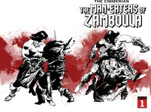 [Cimmerian: Man-Eaters Of Zamboula #1 (Cover D Robin Recht Wrapar) (Product Image)]