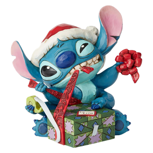 [Lilo & Stitch: Statue: Stitch With Santa Hat (Product Image)]