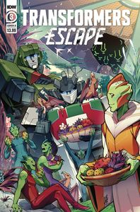 [Transformers: Escape #3 (Cover B Umi Miyan) (Product Image)]