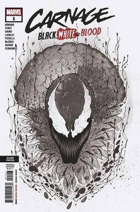 [Carnage: Black White & Blood #1 (2nd Printing Momoko Variant) (Product Image)]