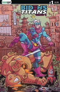 [Bidens Titans Vs Q (Cover C Erik Klaus) (Product Image)]