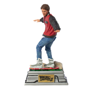[Back To The Future 2: Statue: Marty Mcfly On Hoverboard (Product Image)]