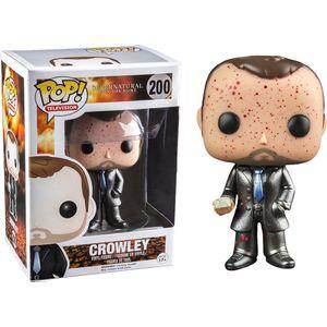 [Supernatural: Pop! Vinyl Figures: Crowley (Exclusive Metallic Blood Splatter Edition) (Product Image)]