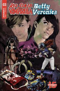 [Red Sonja & Vampirella Meet Betty & Veronica #3 (Cover E Staggs) (Product Image)]