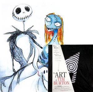 [Art Of Tim Burton (Hardcover) (Product Image)]