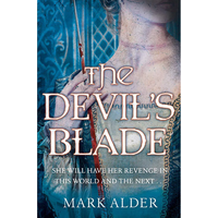 [Q&A With Mark Alder About 'The Devil's Blade' (Product Image)]