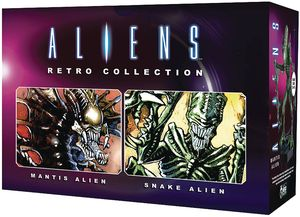 [Aliens: Retro Figure Collection Magazine #1 Mantis & Snake Set (Product Image)]
