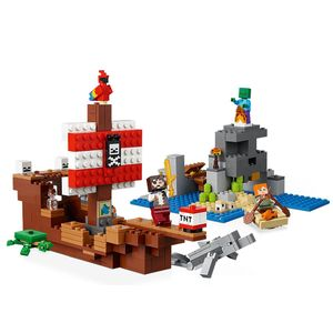 [LEGO: Minecraft: The Pirate Ship Adventure (Product Image)]