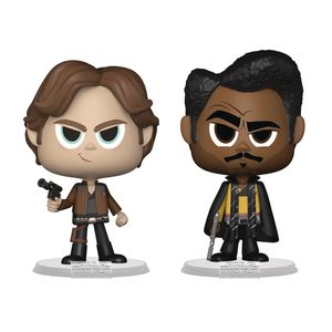 [Solo: A Star Wars Story: Vynl Figure 2-Pack: Han Solo & Lando Calrissian (Product Image)]