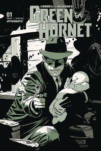 [The cover for Green Hornet #1 (Cover A Weeks)]