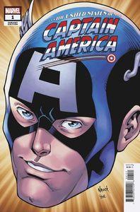 [United States: Captain America #1 (Nauck Headshot Variant) (Product Image)]