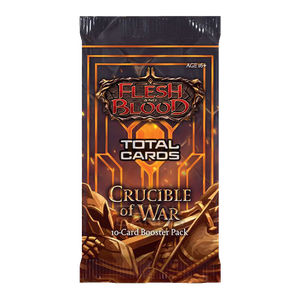 [Flesh & Blood: Trading Card Game: Crucible Of War: Booster Pack (Product Image)]