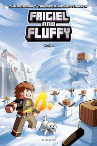 [The Minecraft Inspired Misadventures Of Frigiel & Fluffy: Volume 2 (Hardcover) (Product Image)]
