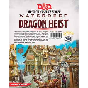 [Dungeons & Dragons: DM Screen: Waterdeep Dragon Heist (Product Image)]