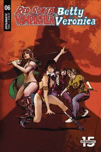 [Red Sonja & Vampirella Meet Betty & Veronica #6 (Cover E Staggs) (Product Image)]