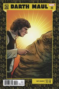 [Star Wars: Darth Maul #4 (Star Wars 40th Anniversary Variant) (Product Image)]