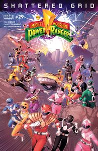 [Mighty Morphin Power Rangers #29 (Main Sg) (Product Image)]
