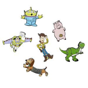[Toy Story: Enamel Pin Badges: Characters (Product Image)]